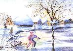 Les patineurs