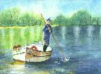 L'homme � la barque
