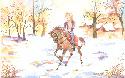 Promenade � cheval