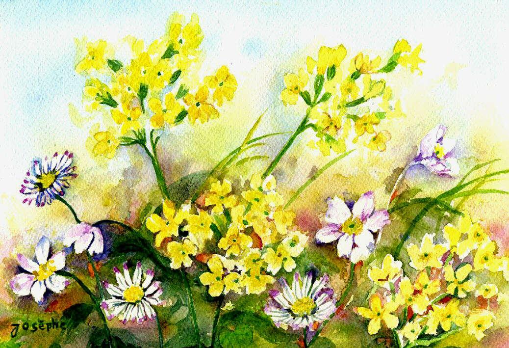 Fleurs du printemps for Bouquet de fleurs printemps